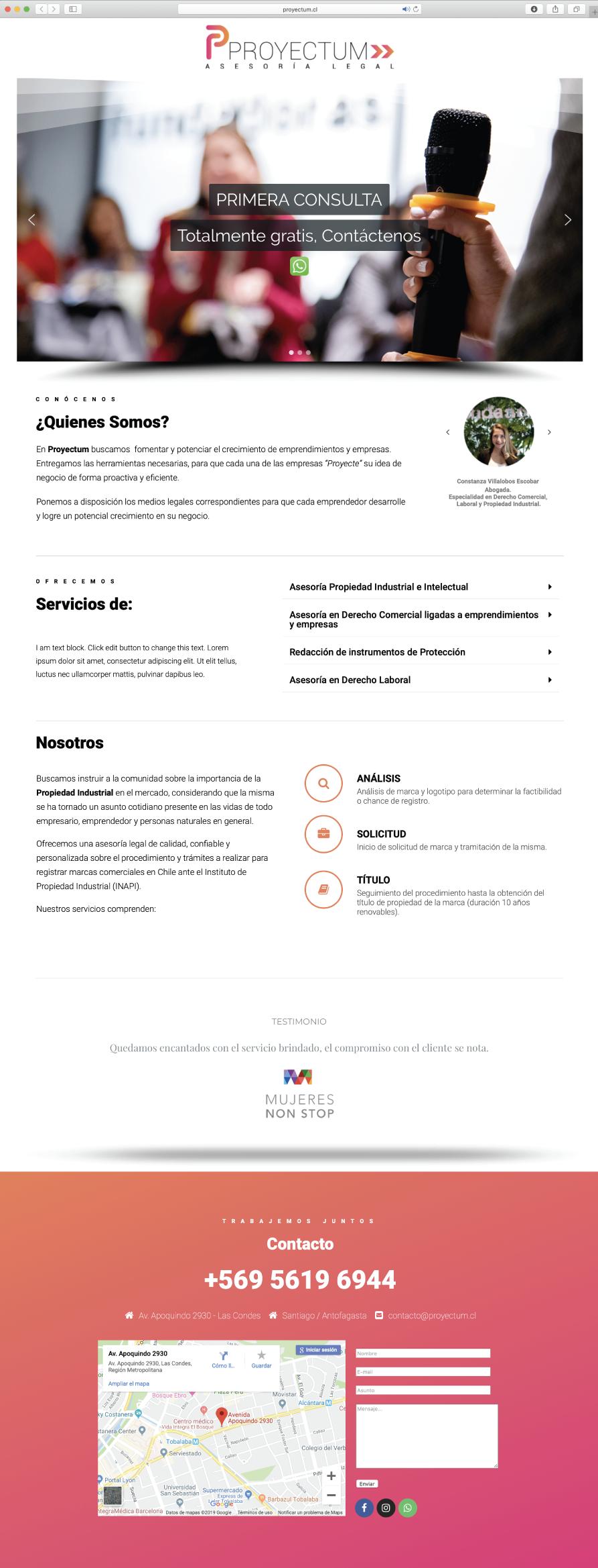 páginas web en santiago
